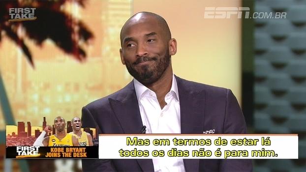 Kobe não tem resposta para os problemas dos Lakers, mas diz: 'É hora de reconstruir'