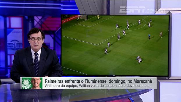 Antero: 'Não vai fazer diferença nenhuma, mas o Palmeiras pode terminar o campeonato até como vice-campeão'