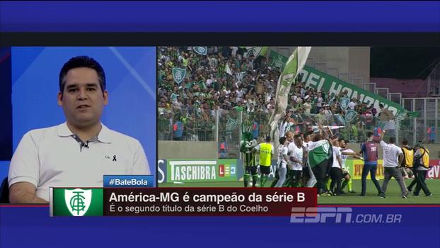 Para Bertozzi, América-MG não pode fazer loucuras em 2018; Gian: 'Conquista muito valiosa'