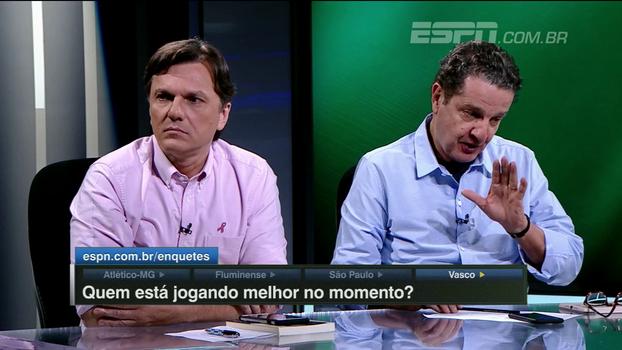 Juca Kfouri: 'Se eu tiver que apostar, eu corto um braço se o Atlético-MG não ganhar do São Paulo'