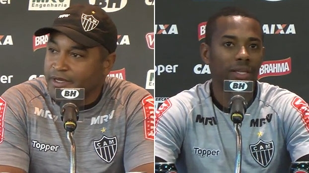 Roger destaca presença de Luan; Robinho pede atenção na Copa do Brasil: 'Qualquer erro é fatal'