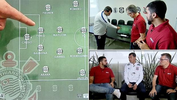 Esquema, marcação e Romero: Carille conta para a ESPN como o Corinthians joga