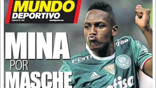 Barcelona pode tentar antecipar a chegada de Yerry Mina; Jorge Nicola explica