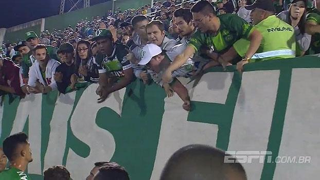 Após derrota, Túlio de Melo tira satisfações com torcida da Chape; 'Bate Bola' analisa