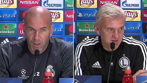 Técnico do Legia Varsóvia fala em 'vergonha' por jogo sem torcida com o Real