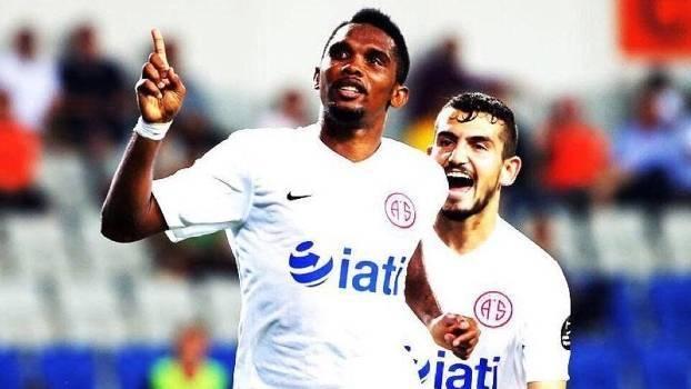 Veja os golaços de Samuel Eto o na estreia dele no Turco pelo Antalyaspor 9aef916f458bc