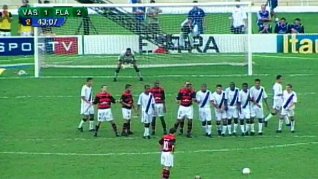 Golaço de falta de Petkovic na final do Carioca contra o Vasco completa 15 anos nesta sexta-feira