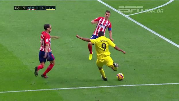LaLiga: Melhores momentos de Atlético de Madri 1 x 1 Villarreal
