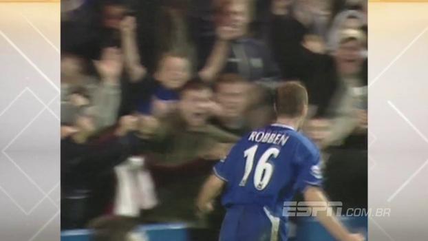 Em 2004, com gol de Robben, Chelsea venceu o Everton no Stamford Bridge; reveja