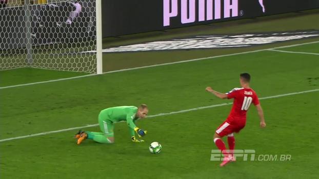 Goleiro húngaro falha feio, Suíça goleia e segue 3 pontos na frente de Portugal