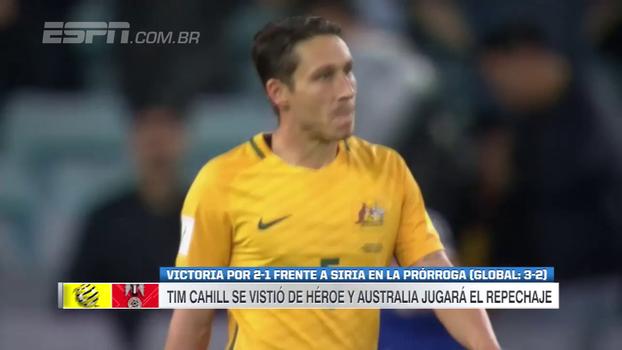 Veja os gols da vitória da Austrália sobre a Síria por 2 a 1 pelas Eliminatórias Asiáticas