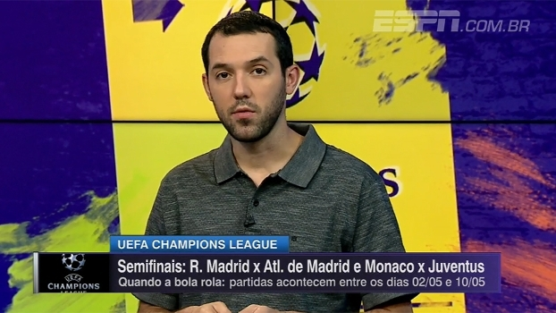 Real x Atlético e Monaco x Juventus: Hofman analisa semifinais da Champions