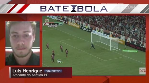 Luis Henrique elogia transmissão do Atletiba pela internet: 'Clubes têm que buscar melhores condições'