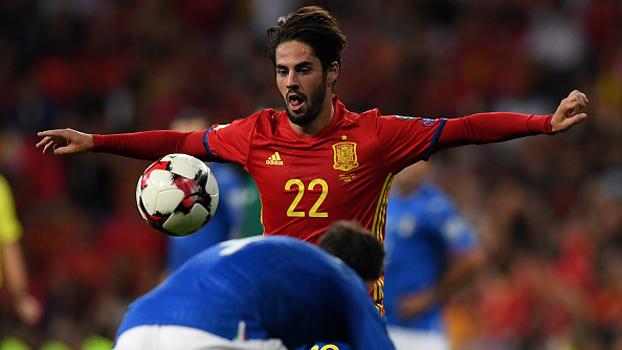 e25d8d0237 Eliminatórias europeias  Melhores momentos de Espanha 3 x 0 Itália ...