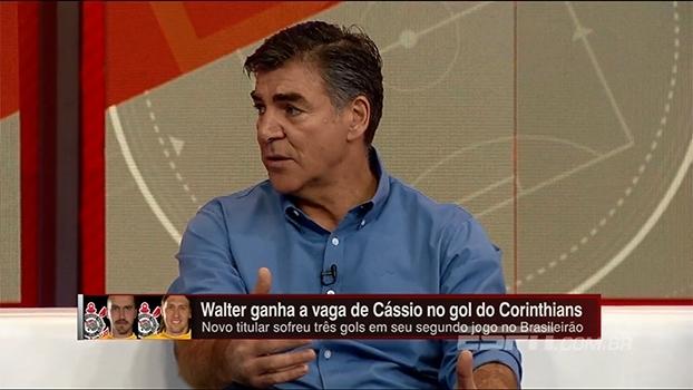 'Eu não tiraria o Cássio': Zetti analisa opção de Tite de colocar o goleiro no banco