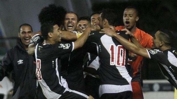 Carioca: Gol de Vasco 1 x 0 Boavista