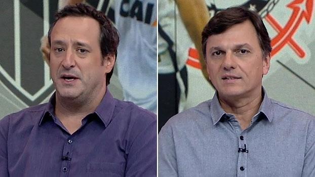 Gian e Mauro aprovam negociação entre Corinthians e Atlético-MG: 'Troca interessante'