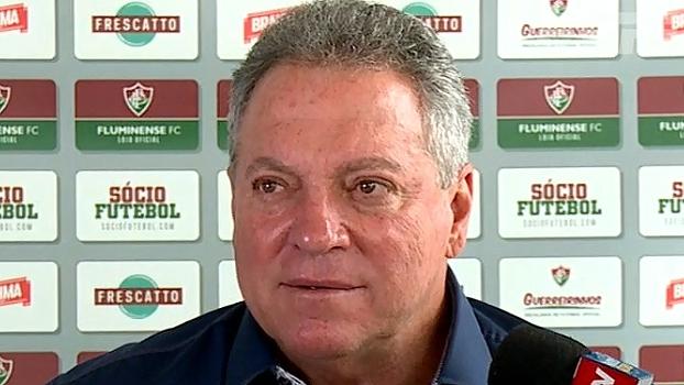 Abel Braga fala em coletiva no Fluminense: 'Já tenho um time na minha cabeça'