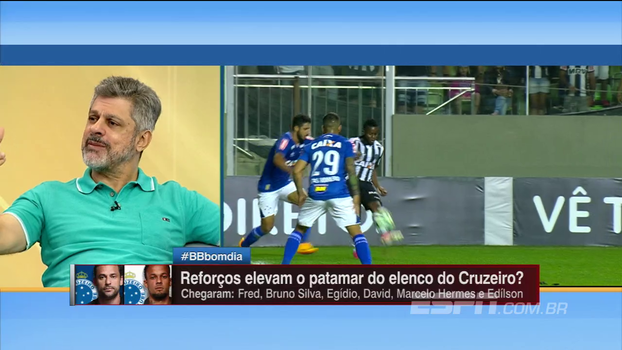 Arreguy põe Cruzeiro entre os três melhores elencos do Brasil