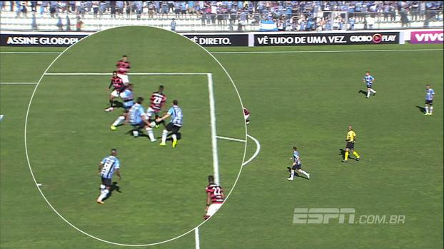 Mão fora da área e gol duvidoso; veja e discuta as polêmicas de Grêmio x Vitória