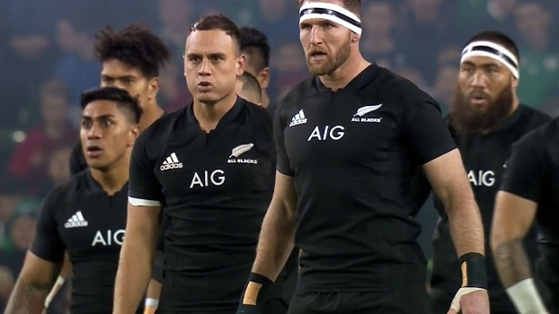 Assista ao tradicional 'Haka' dos All Blacks contra a Irlanda