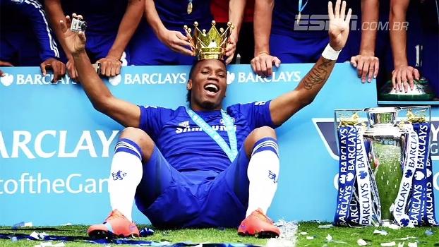 Eternizado no Chelsea, Drogba teve seu auge no clube inglês e é visto como lenda por torcedores