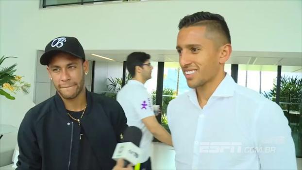 De volta à Granja Comary, Neymar relembra ouro olímpico: 'Passou rápido'