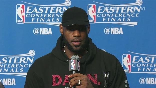 'Não acho que jogamos tão bem', diz LeBron após domínio dos Cavs sobre os Celtics
