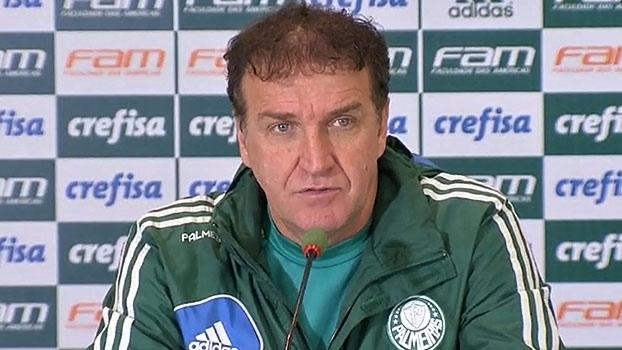 Treinador do Palmeiras projeta jogo contra o Cruzeiro, pelo Campeonato Brasileiro