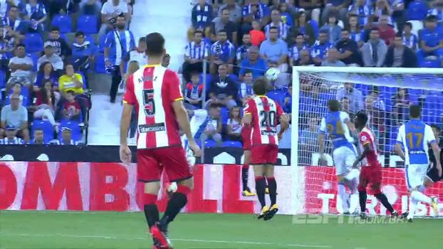 Em partida alucinante, com bolas na trave, gol anulado e muitas chances, Leganés e Girona empatam