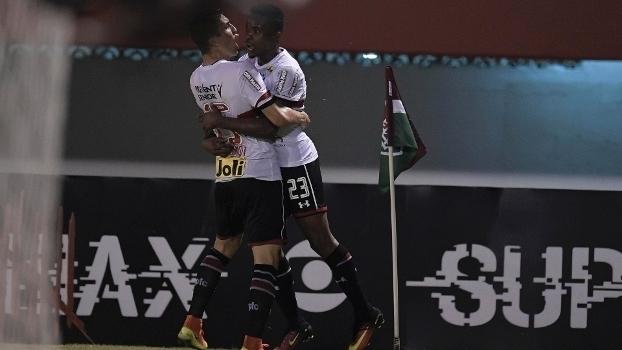 Brasileiro: Gols de Fluminense 1 x 2 São Paulo