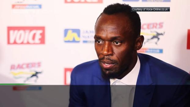 Bolt responde pergunta considerada por ele idiota e fala em prova especial em Londres