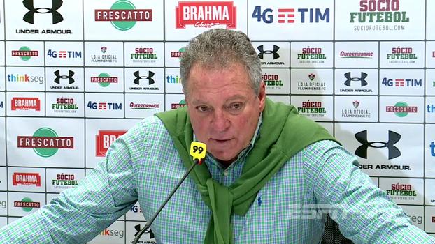 Abel Braga explica alterações e comemora resultado: 'Estávamos merecendo essa vitória faz tempo'