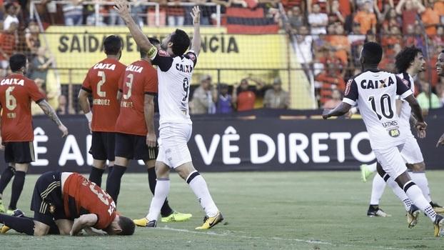 Brasileiro: Gols de Sport 1 x 1 Atlético-MG