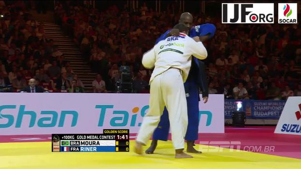 Brasil é medalha de prata e bronze no  Mundial de judô de Budapeste