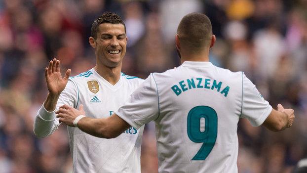 Veja os gols da vitória do Real Madrid sobre o Málaga por 3 a 2