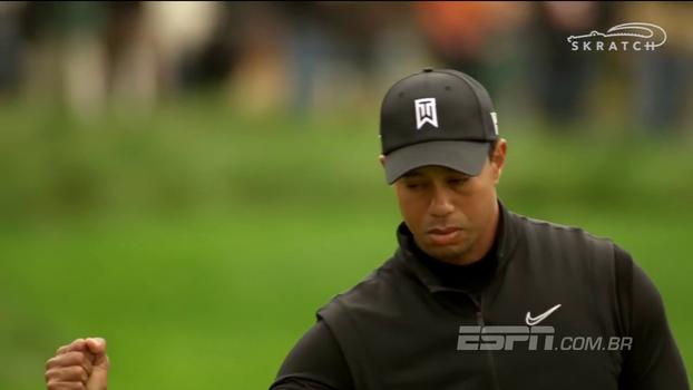 No número 1199 no ranking mundial, Tiger Woods está de volta aos torneios oficiais após 301 dias