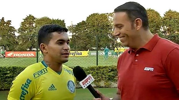 Dudu fala sobre 'sorte' de Palmeiras permanecer na liderança: 'Não vai nos acompanhar todo o campeonato'