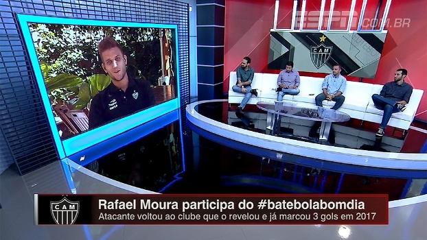 Atleticano, Rafael Moura fala de rivalidade com o Cruzeiro: 'Quero muito marcar nos clássicos'