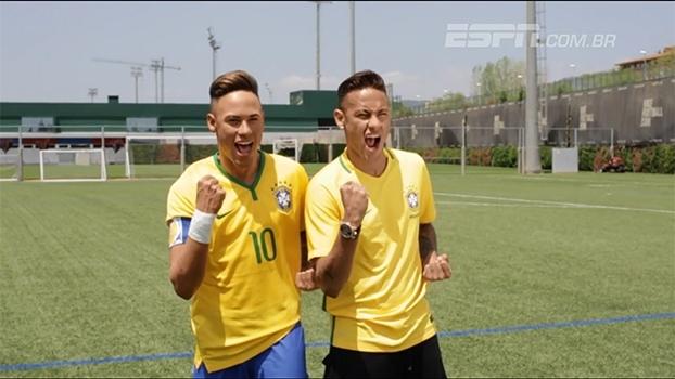 Irmão gêmeo? Neymar ganha estátua de cera rica em detalhes