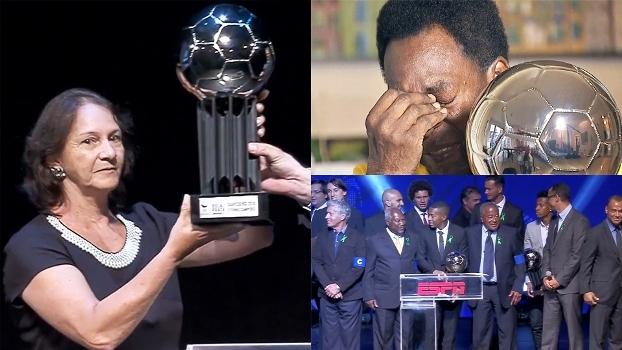 Cerimônia do Bola de Prata tem homenagens, premiações, choro de Pelé e mais