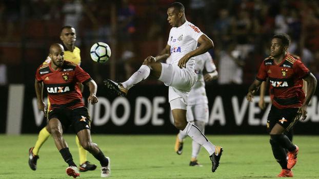 Assista aos gols de Sport 1 x 1 Santos