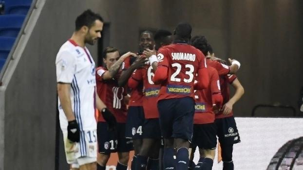 Francês: Melhores momentos de Lyon 1 x 2 Lille