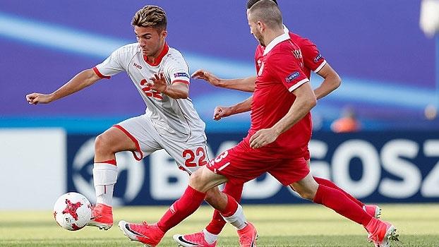 Sérvia busca empate no último minuto com Macedônia e times fazem primeiro ponto na Euro Sub-21