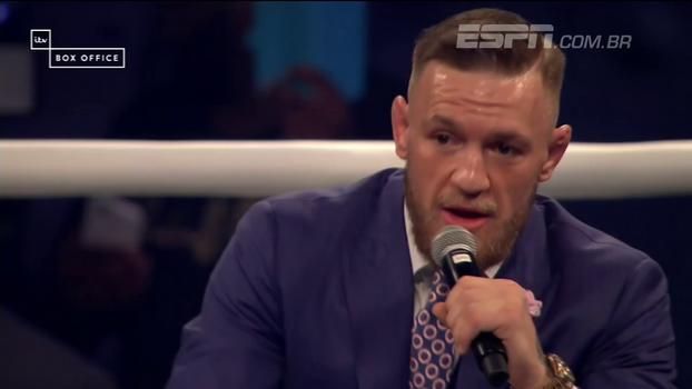 McGregor chama Mayweather de 'mão fraca de m*' e já celebra: 'Vou quadruplicar meu patrimônio com meia luta'