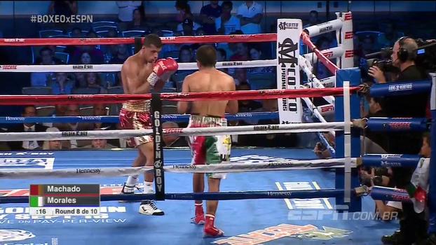 Na principal luta da noite no Golden Boy, Alberto Machado vence Carlos Morales