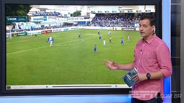 Sálvio comenta sobre pênalti em URT x Cruzeiro: 'Bem marcado'