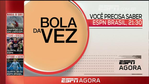 Surfe, MLB e Bola da Vez, com Levir Culpi: veja os destaques da programação desta terça nos canais ESPN