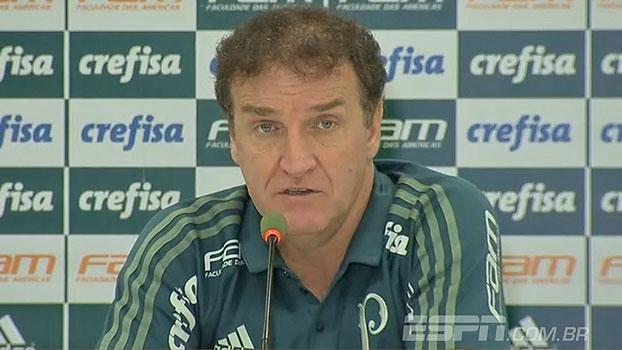 Cuca diz o que achou sobre partida de Borja: 'Mostrou para nós que pode e sabe lutar'