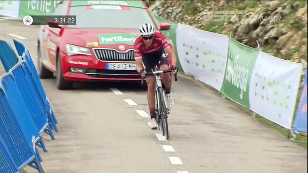 Contador vence a 20ª etapa da Volta da Espanha e Froome está perto de título